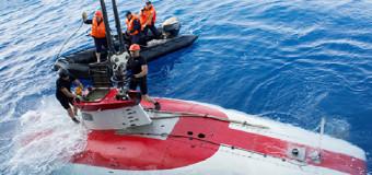 В Атлантике завершены глубоководные испытания автономного аппарата «Русь»