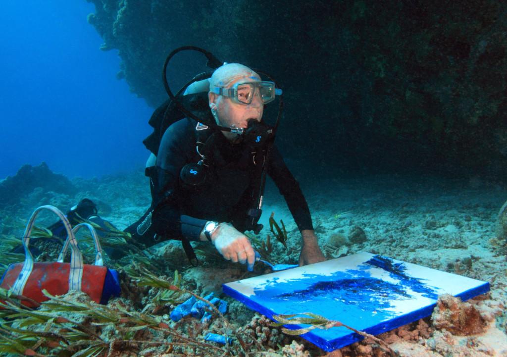 Андрэ Лабан - путешественник, акванавт, инженер, кинорежиссёр, фотограф, художник и даже немного музыкант...