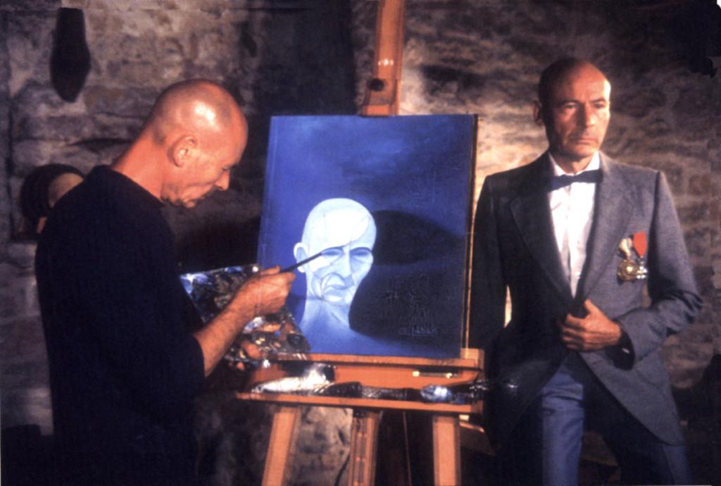Андрэ Лабан на снимках из юмористического альбома, 1973-1983 гг.