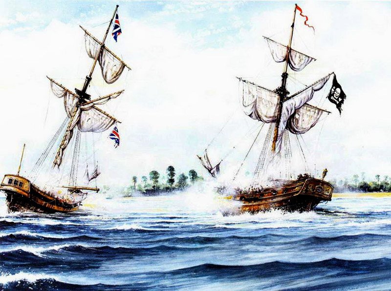 Бой шлюпов «Нету» и «Royal James» 27 сентября 1718 г.