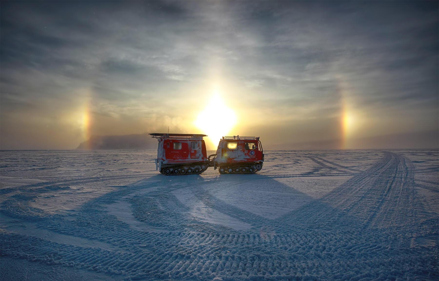 Антарктида в фотографиях Девена Стросса (Deven Stross).
