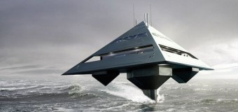 Представлен концепт яхты-пирамиды