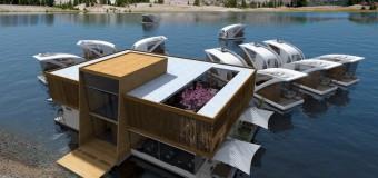 В Сербии собираются построить гостиницу с плавающими номерами