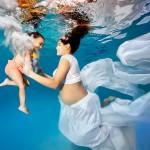 Подводные фотографии беременных от Адама Оприса