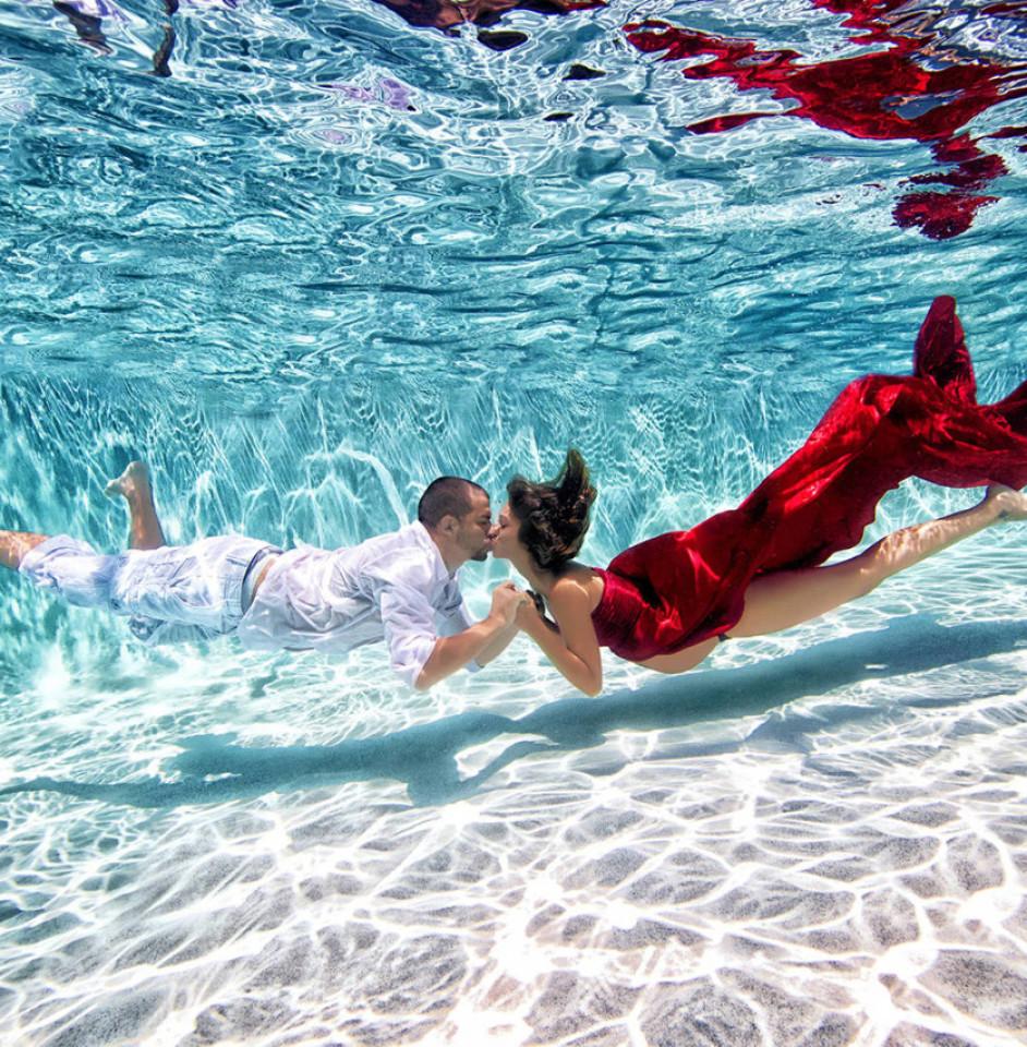 Подводные фотографии беременных от Адама Оприса 7