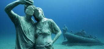 В Испании открылся первый подводный музей скульптур