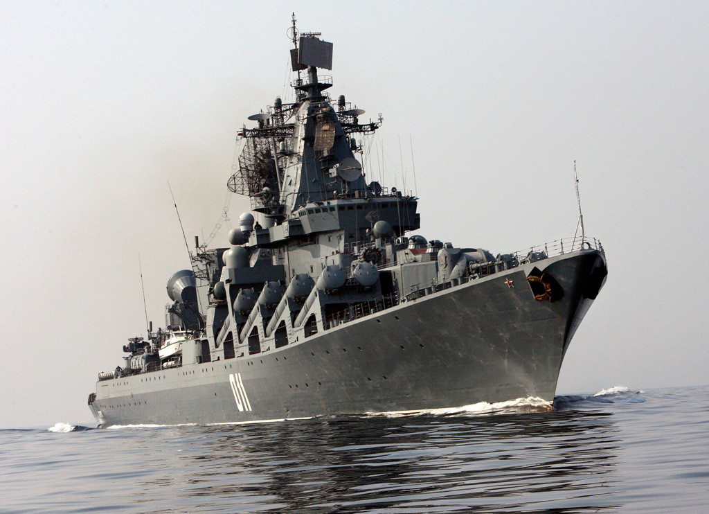 Ордена Нахиимова гвардейский ракетный крейсер «Варяг» - флагман Тихоокеанского флота России