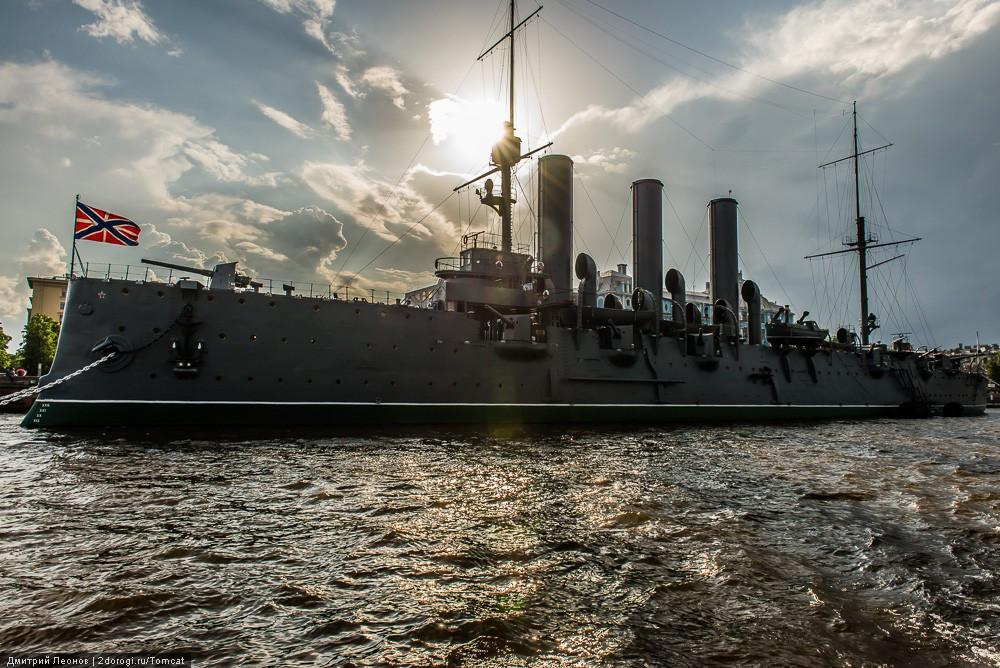 Крейсер «Аврора» — филиал Центрального военно-морского музея. 1956 год