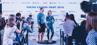 В Москве прошел первый в истории модный показ яхтенной одежды Sailing Fashion Night