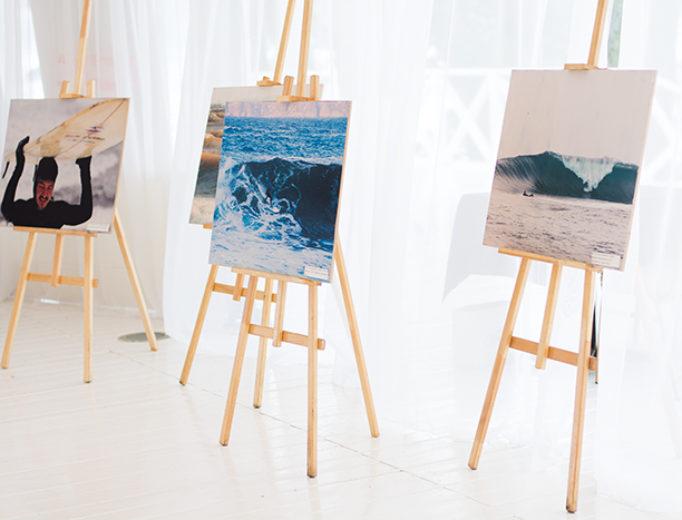 Выставка фотографий серфинга на Surfest на ocean media