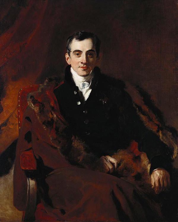 Иоанн Каподистрия. Худ. Томас Лоуренс, коллекция Виндзорского королевского дворца, Лондон