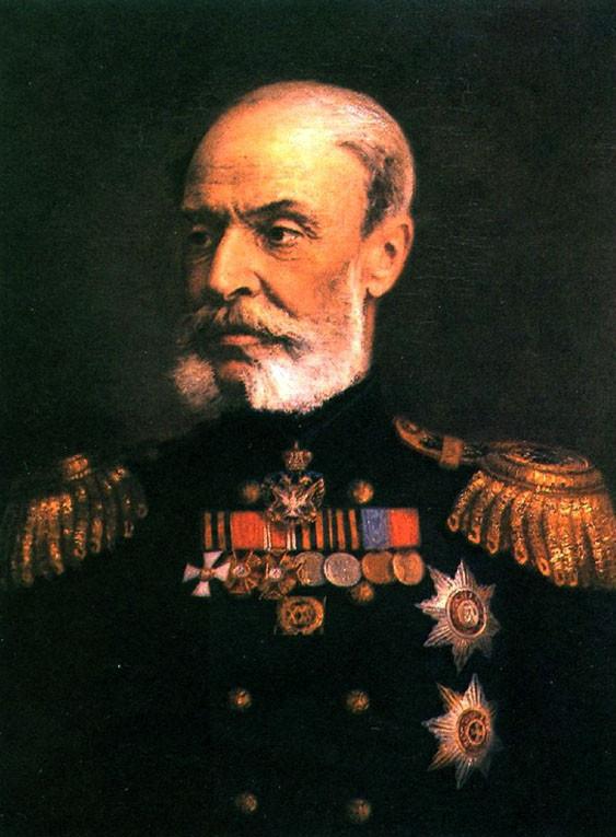 Адмирал Николай Фёдорович Метлин, в прошлом – командир люггера «Широкий»