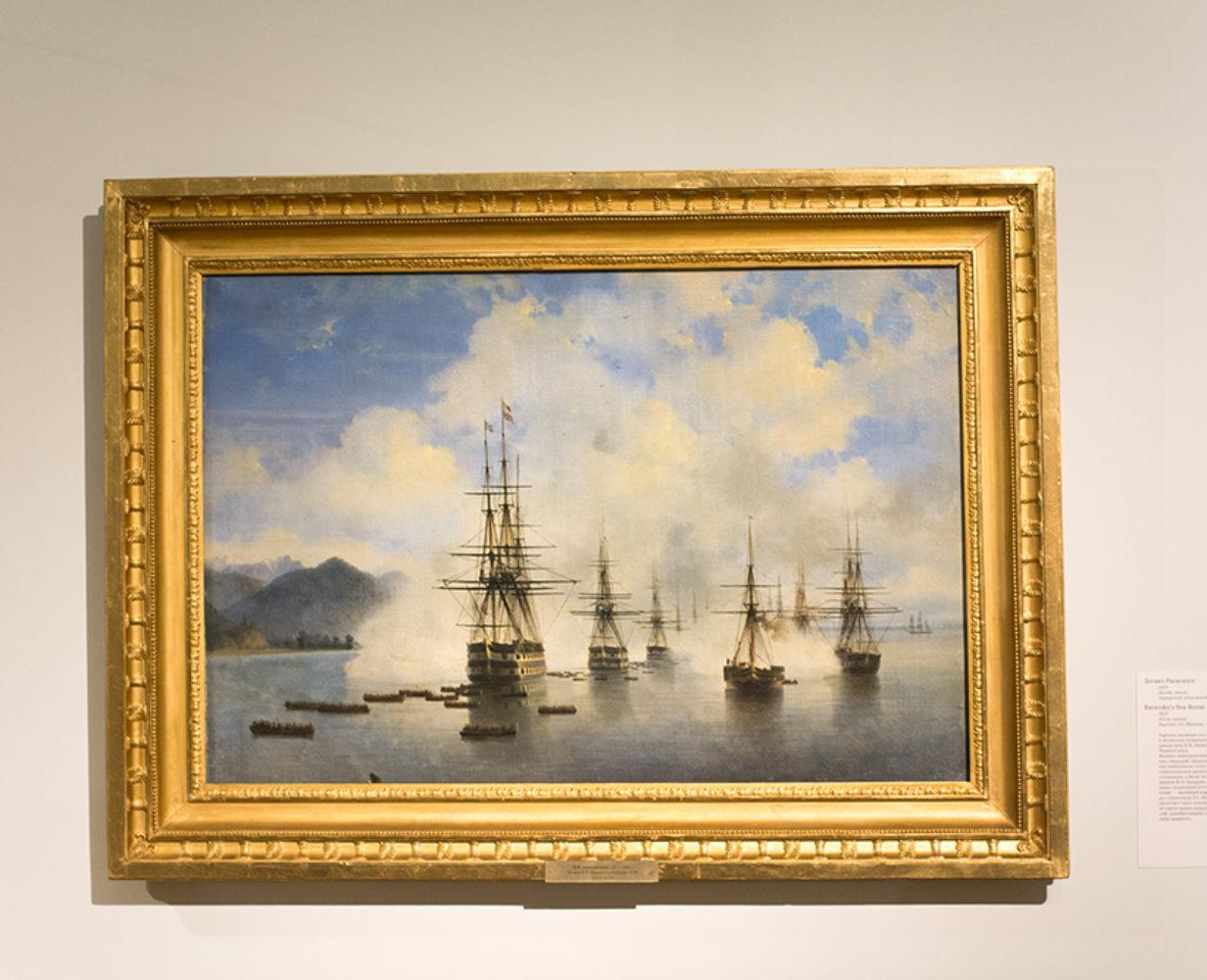 Море на картинах Айвазовского