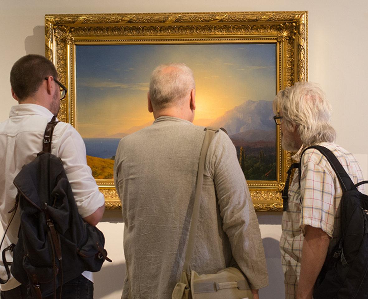 Картины Айвазовского в Москве