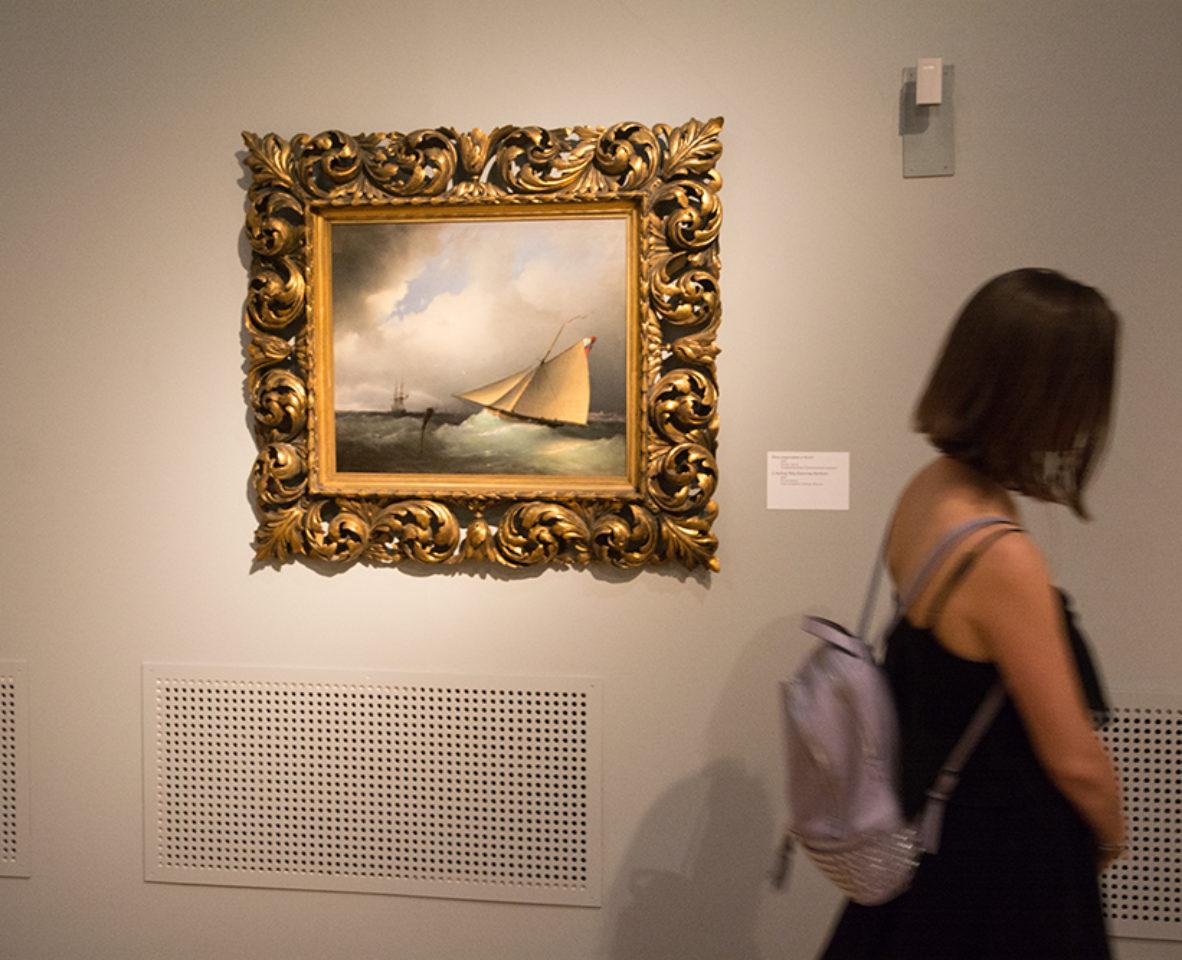 Открытие выставки Айвазовского