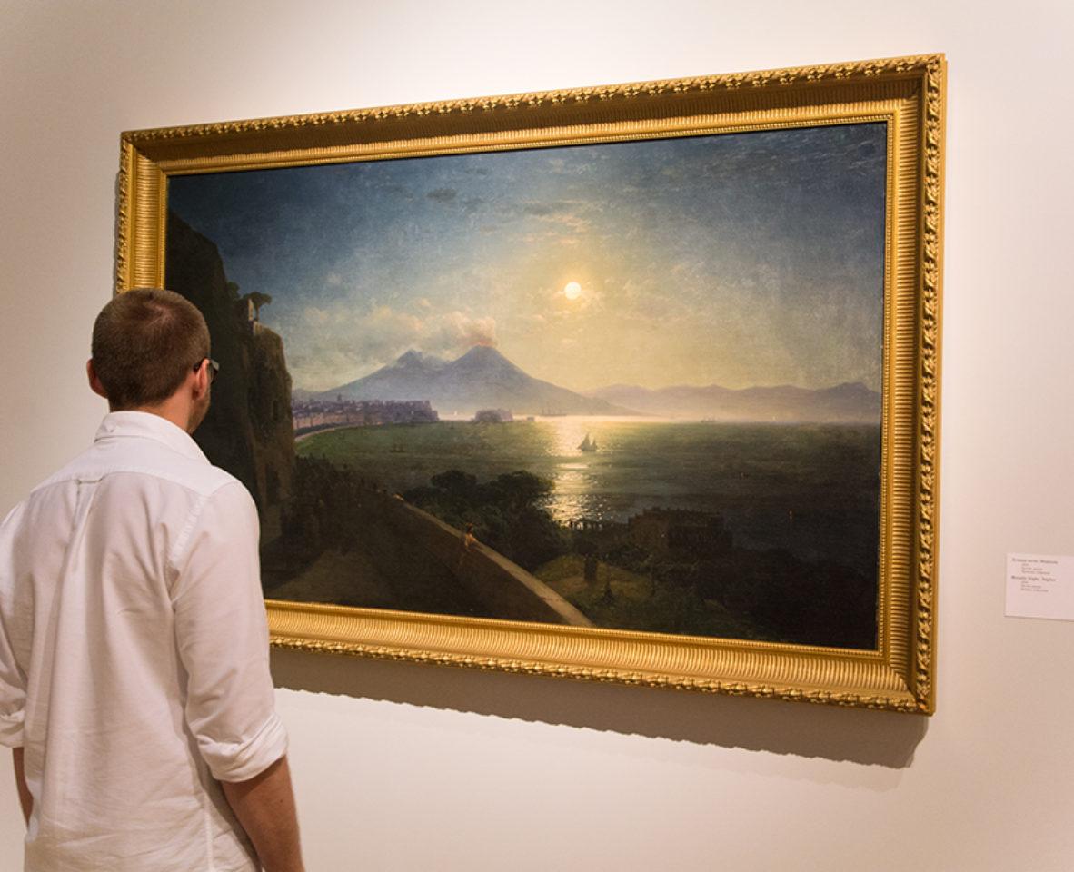 Картины Айвазоского в Третьяковской галерее