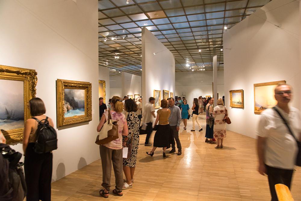 Выставка Айвазовского в Третьяковской галерее