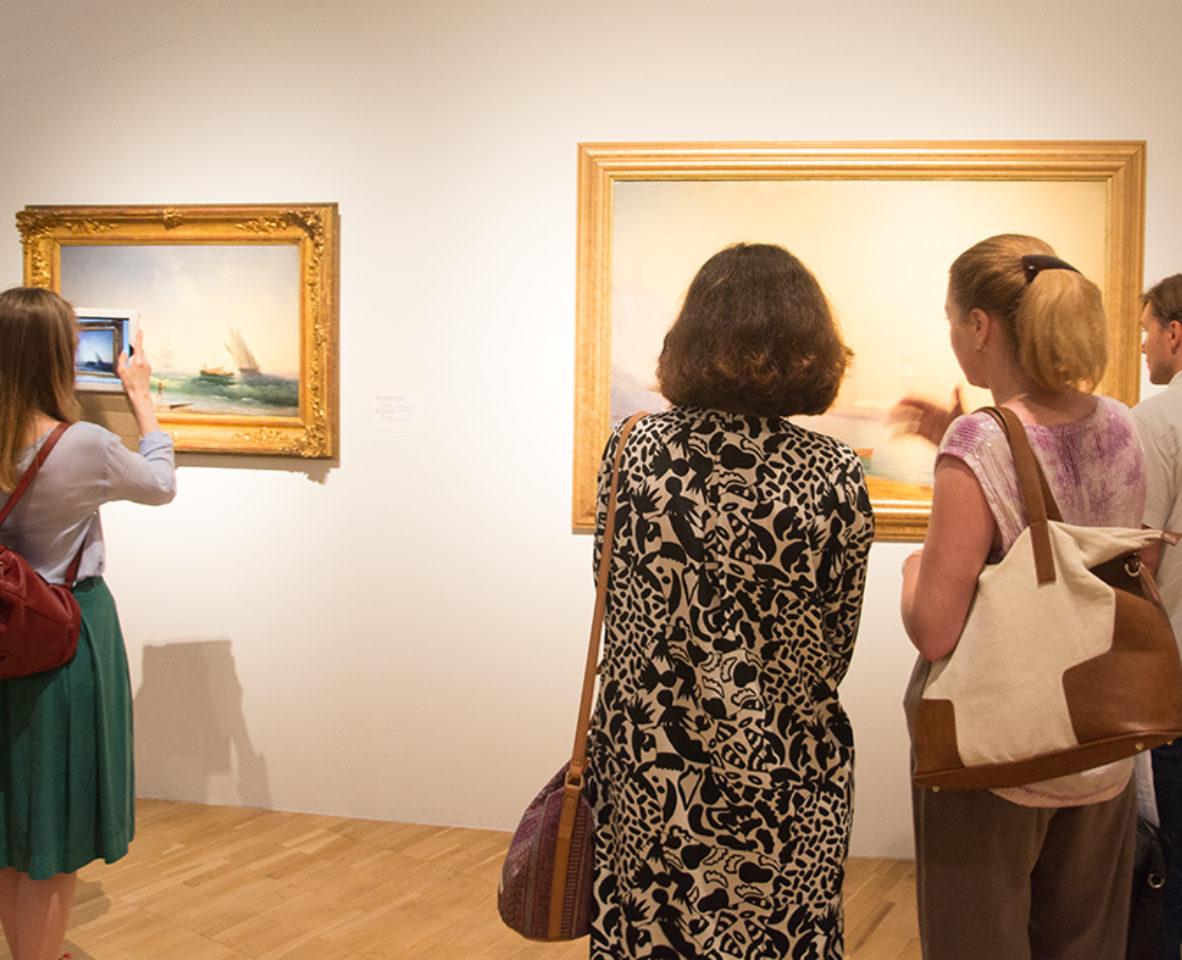 Картины Айвазовского в Третьяковской Галерее