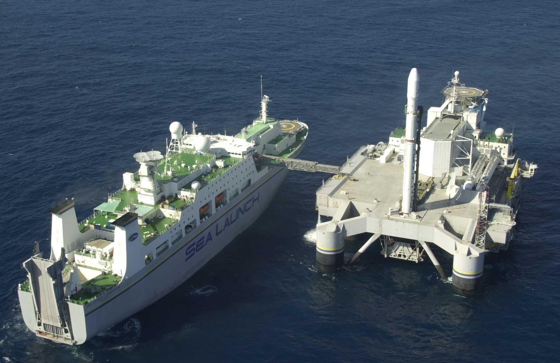Cборочно-командное судно Sea Launch Commander