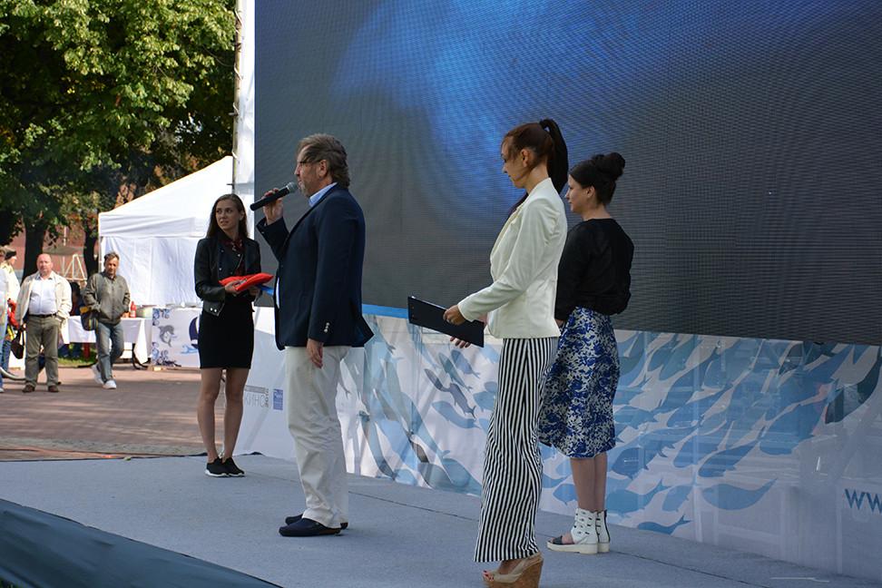 Торжественная речь генерального директора Ocean TV Андрея Подколзина