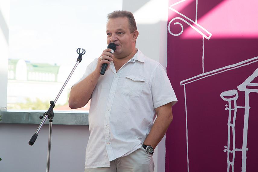Организатор фестиваля Дмитрий Виноградов