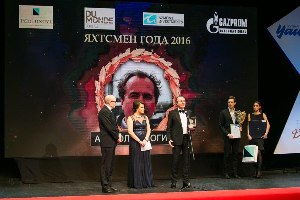 Яхтсмен года 2017 -  Анатолий Логинов