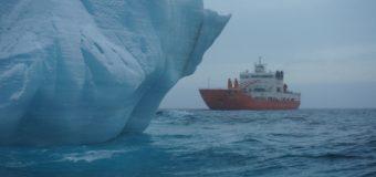 В корпорации «Роснефть» занялась буксировкой айсбергов.