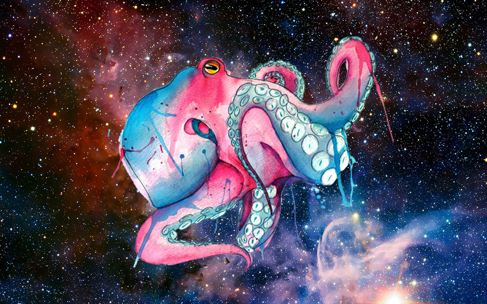 Осьминоги имеют гены инопланетян
