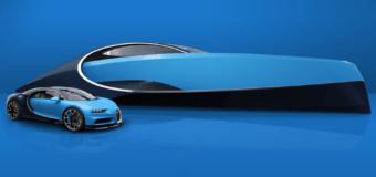 Bugatti выпустила яхту с джакузи и камином