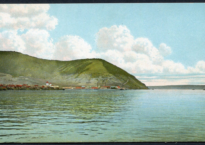 Волга во время разлива
