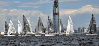 В пятом этапе Кубка Ассоциации яхт класса SB20 приняли участие спортсмены из трех стран