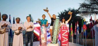 Елена Калинина стала второй на Чемпионате Мира по кайтбордингу!