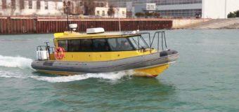 В Крыму спустили на воду скоростной  пассажирский катер РИБ «Крым 1133Т».