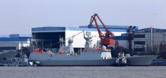 Китайский флот пополнил очередной ракетный фрегат