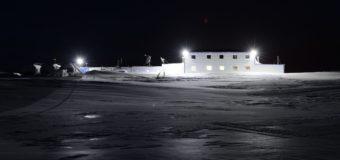 В новогоднюю ночь на Земле Франца-Иосифа было тихо и морозно