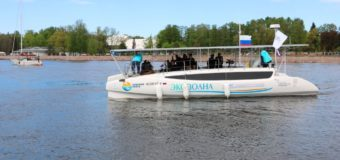 Стартовала уникальная российская экспедиция на судне с солнечными батареями