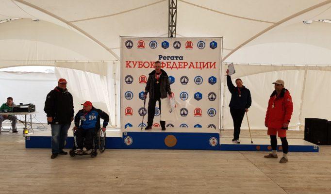Награждение паралимпийцев