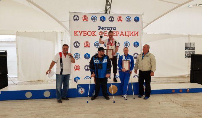 Паралимпийцы их тренер Московцев и Шайдуко