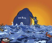 """Климату планеты угрожает """"теплая клякса"""" (The Blod) в Тихом океане"""