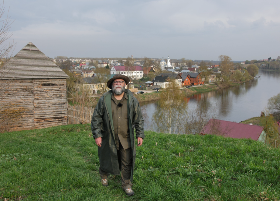 ТОРЖОК. КАдры из фильма великие Реки России
