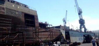 Крупнейшее за 30 лет судно спустят на воду в Приморье