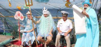 "Праздник Нептуна на ""Палладе"""