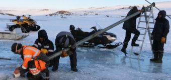 Белорусские полярники извлекли уникальный образец горной породы в Антарктиде