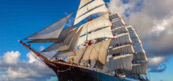 Учебный парусник «Седов» вскоре пришвартуется у берегов Владивостока