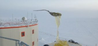 Как выглядит еда при −70 °C в Антарктиде