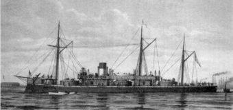 Первые корабли русского флота