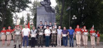 В Твери в день Чесменского сражения наградили геогриевцев-юнармейцев