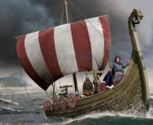 В Норвегии начались раскопки на месте обнаружения корабля викингов