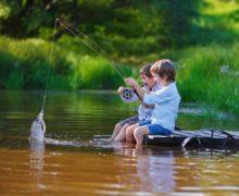 Благотворительный фонд организует в Севастополе бесплатные уроки рыбалки для детей