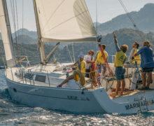 Обучающее видео по управлению парусной яхтой в эфире OCEAN-TV